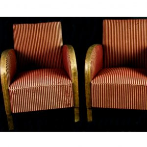 antique swedish art deco armchairs 1