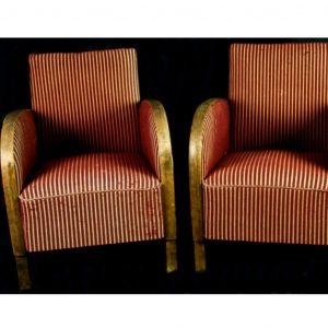 antique swedish art deco armchairs 1