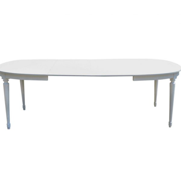 swedish gustavian dining table for sale 230cm