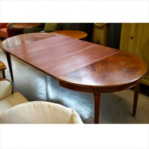 swedish gustavian dining table for sale brown