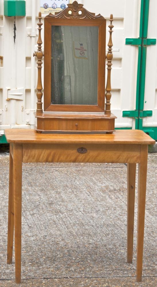 1800s Biedermeier Country Dressing Table