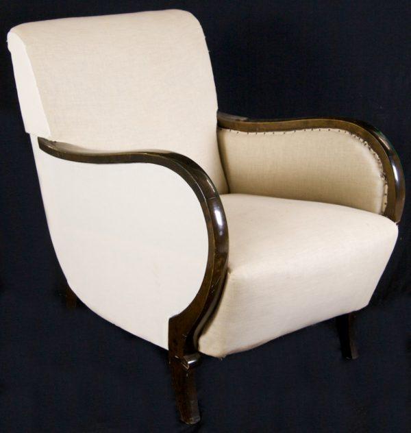 Original Swedish 1900s Art Deco Armchairs