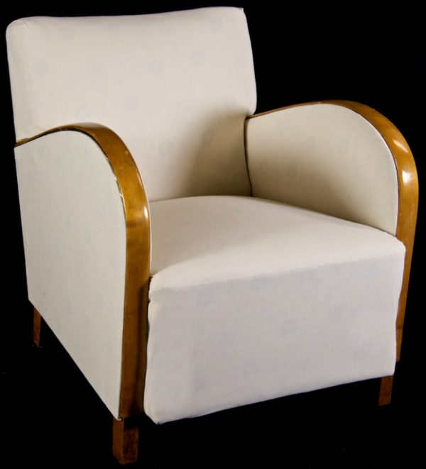 Swedish Antique Art Deco Bentwood Armchairs 1900s
