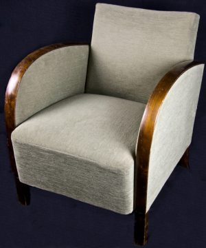 1900s Swedish Original Art Deco Armchairs