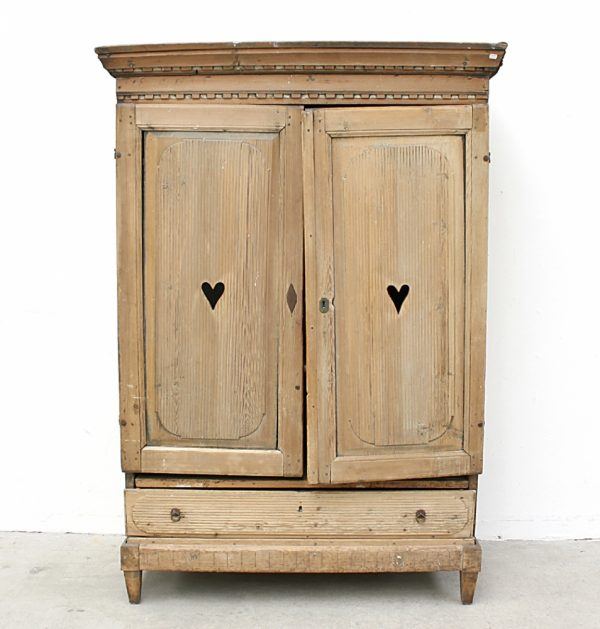 Handmade Bespoke Country Heart Armoire