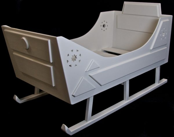 Bespoke Handmade Sleigh Bed
