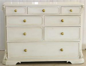 Handmade Bespoke Gustavian 8 Drawer Commode Tallboy Drawers