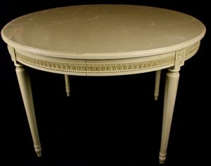 1900s 220cm Gustavian Extendable Dining Table