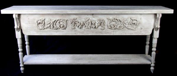 Antique Grey Handmade Bespoke Server Table