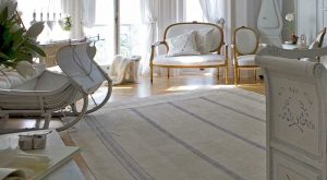 3m Handmade Antique Hemp Linen Rug