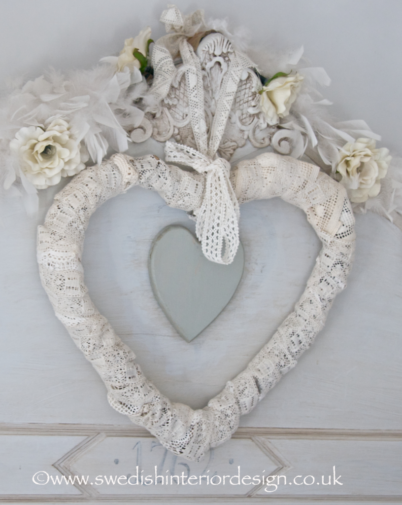 swedish lace heart