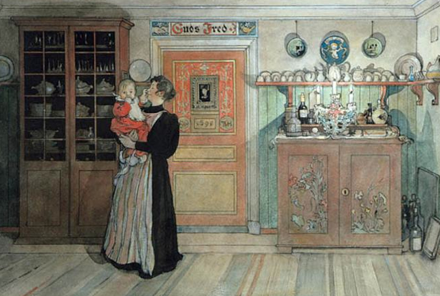 carl larsson painting