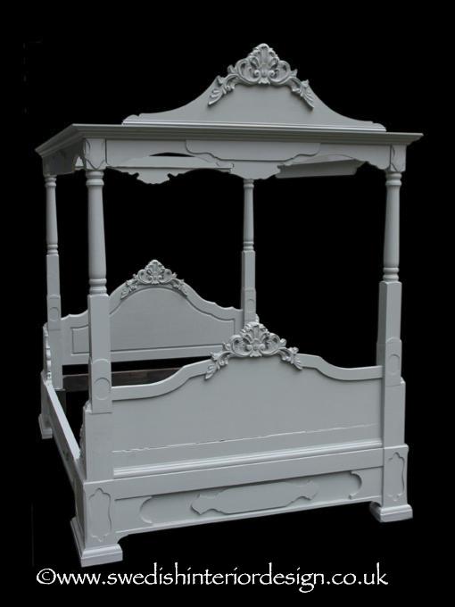 handmade bespoke 4 poster bed for sale