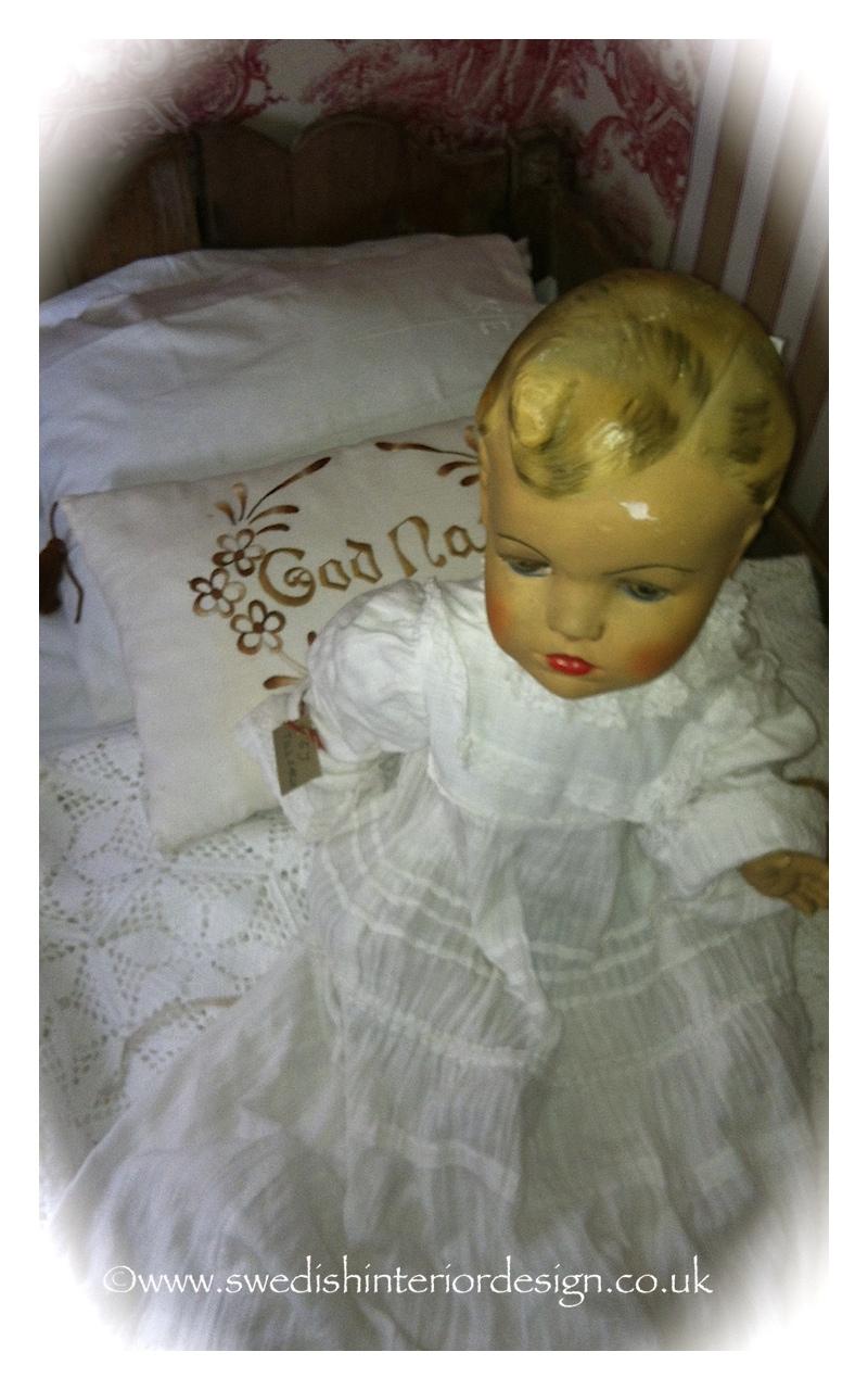 antique swedish doll