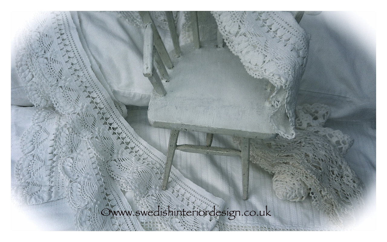 toy chair and lace
