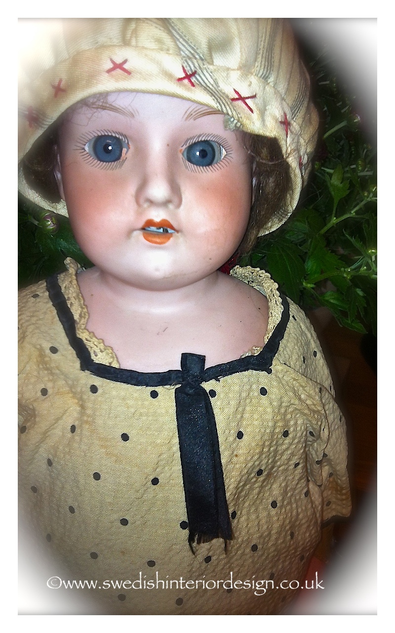 another antique doll from sweden