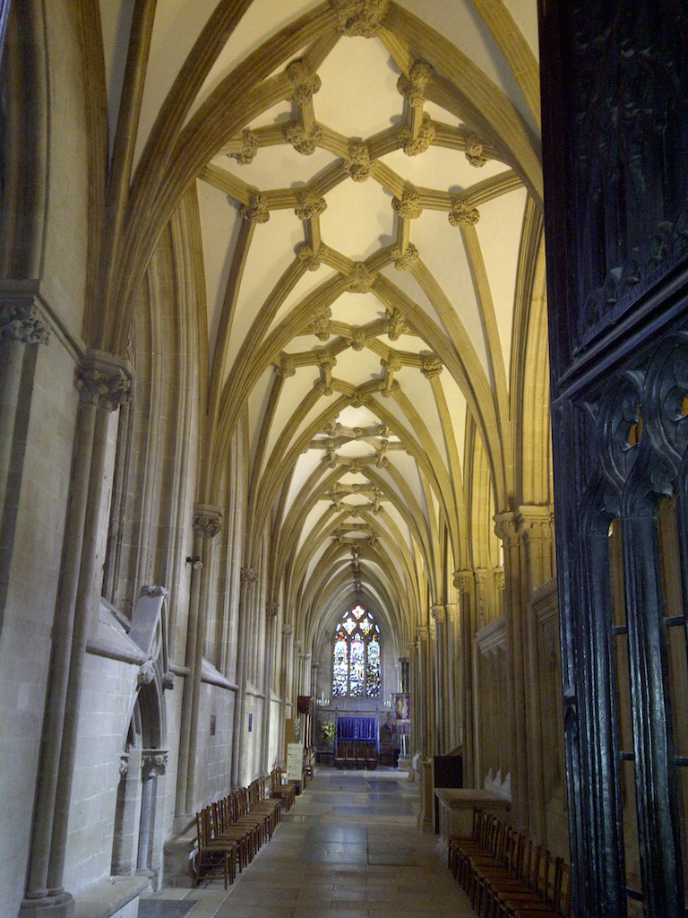 vaulted ceiling wells cathedral