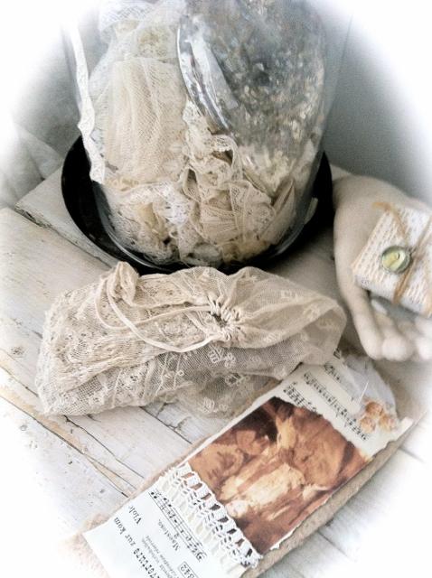 antique swedish lace