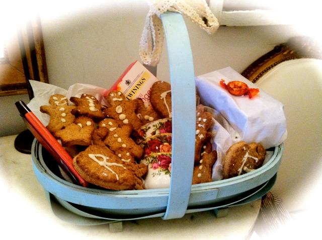 handmade swedish ginger gift basket