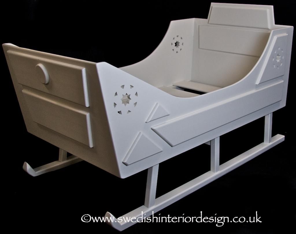 handmade sleigh bed