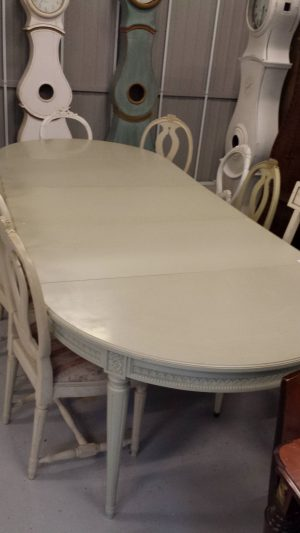 280cm Gustavian Dining Table DNGT19