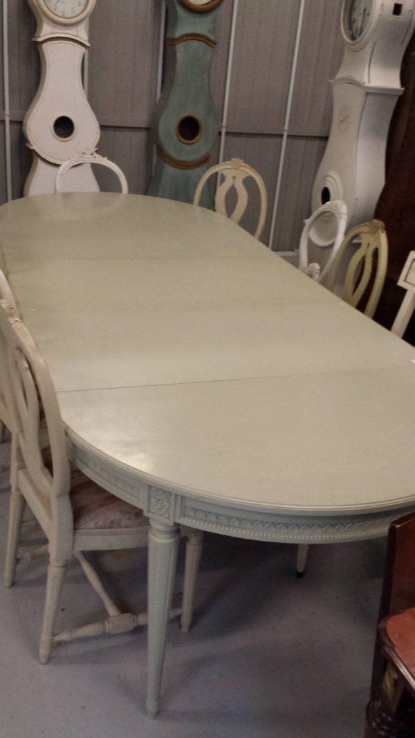 280cm Gustavian Dining Table DNGT19
