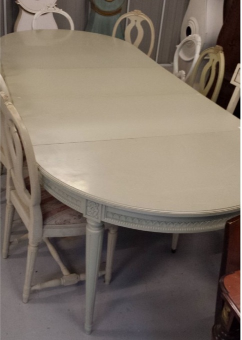 300cm Gustavian dining table