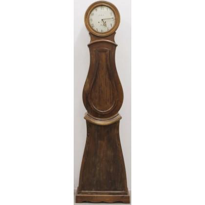 224cm antique swedish mora clock