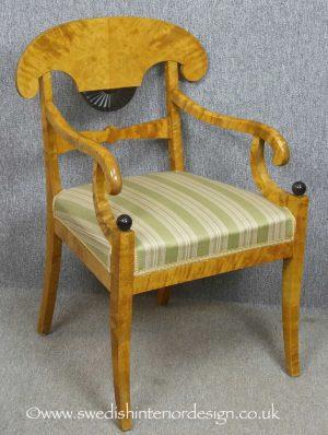 CC14 Biedermeier Carver Chairs