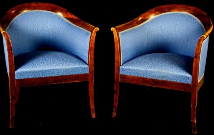 biedermeier club chairs armchairs