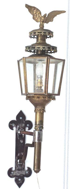 Decorative Iron Copper Antique Eagle Wall Lights Sconces