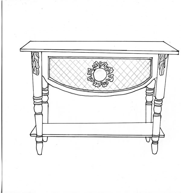 bespoke console table 69