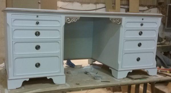 TAB 96 Bespoke Handpainted Gustavian Desk