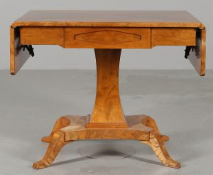 A Tab 84 Antique Swedish Biedermeier Dropleaf Table