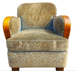 ar44 swedish antique art deco armchairs
