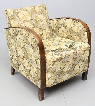 AR 42 art deco armchairs