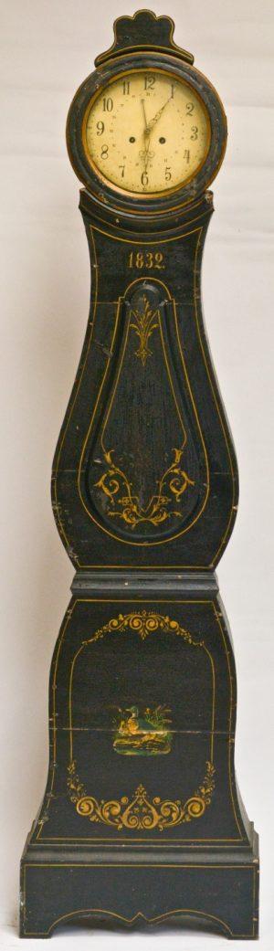 mc98 antique swedish mora clock