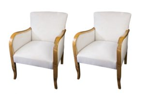 AR5 Early 1900s Swedish Art Deco Armchairs