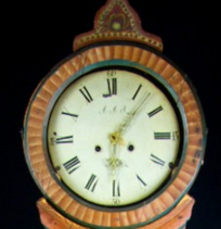 antique mora clock face roman numeral