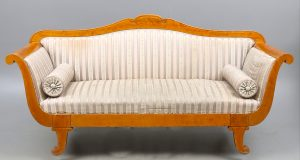 A SF39A Antique Swedish Biedermeier Sofa