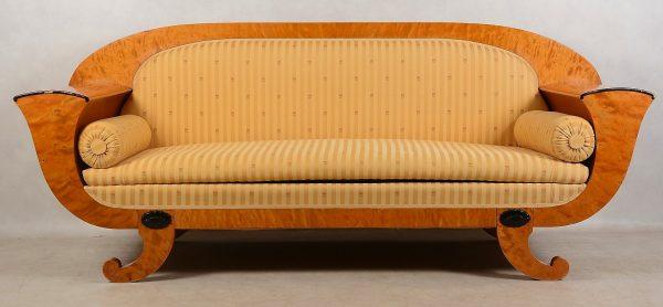 Antique Swedish Biedermeier Sofa Couch sf43
