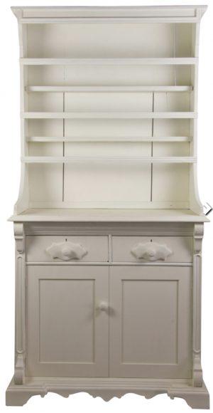 Bespoke Handmade White Country Dresser 2