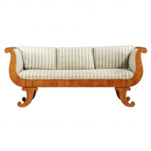 antique swedish biedermeier sofa 7