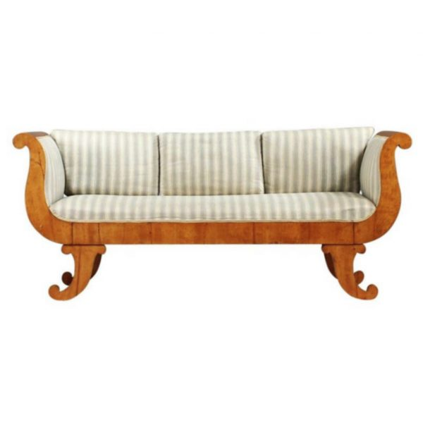 antique swedish biedermeier sofa 7