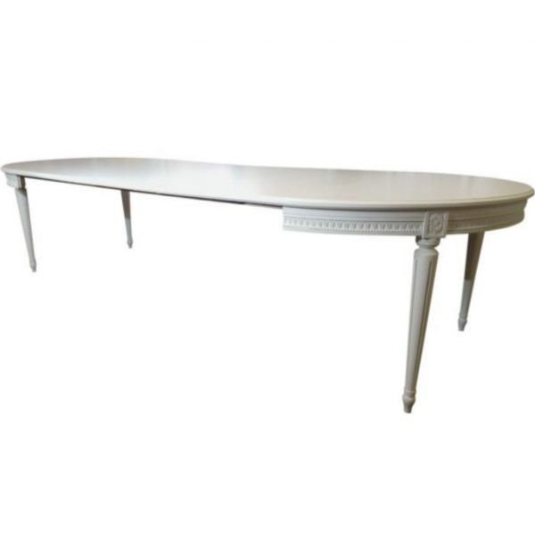 300cm gustavian dining table for sale