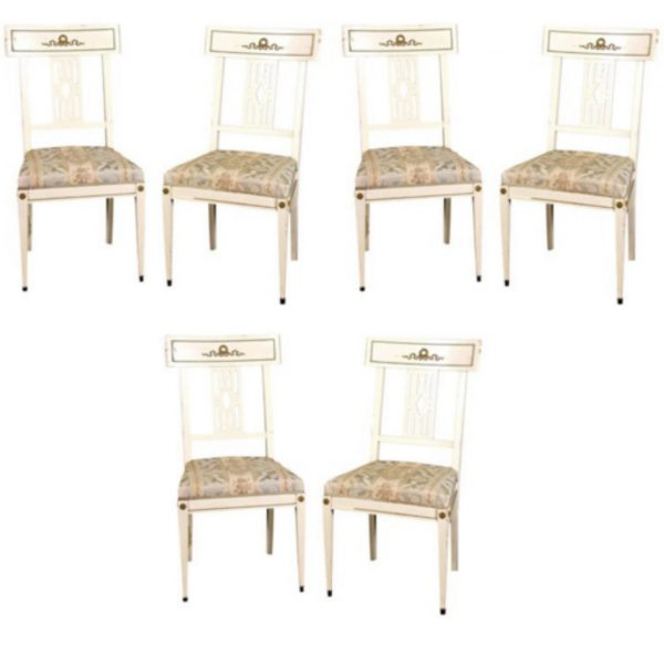antique gustavian bellman dining chairs 1
