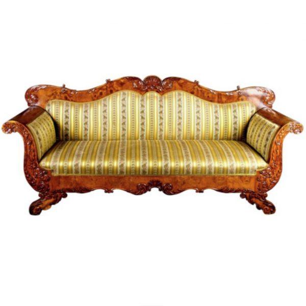 antique swedish biedermeier sofa 6