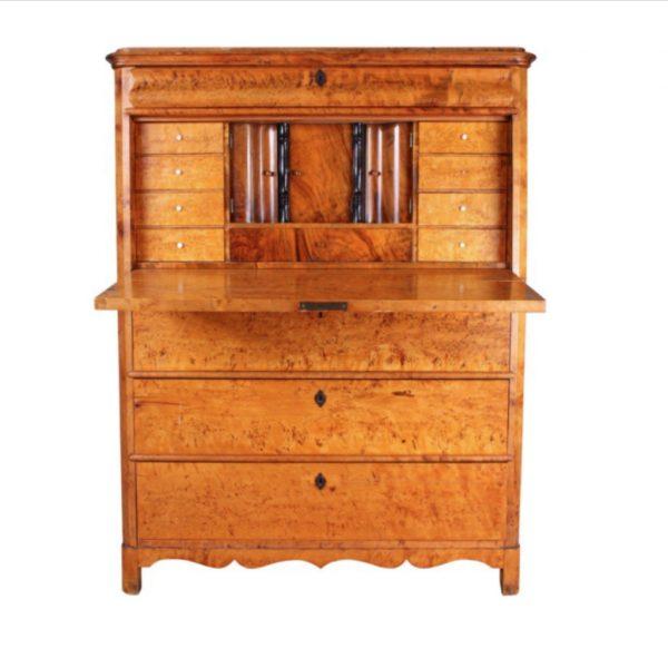 antique swedish biedermeier chiffonier cabinet