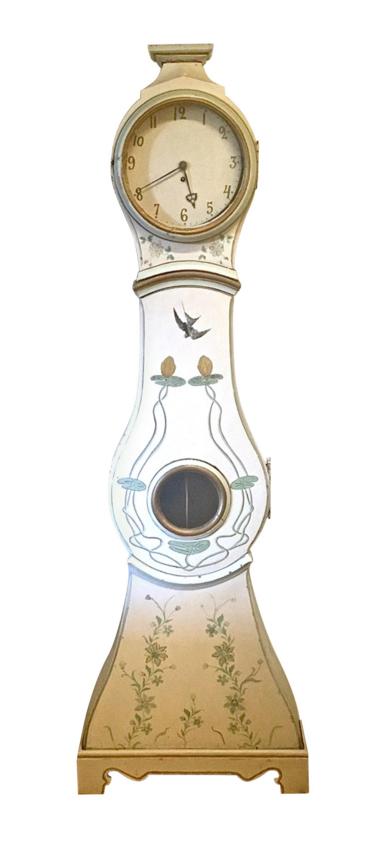 mc141 mora clock 1800s swedish antique