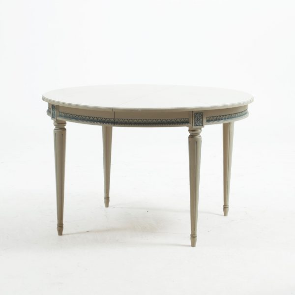 265cm gustavian dining table vintage